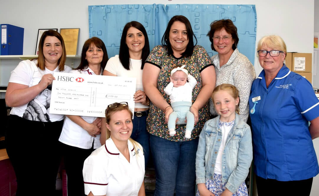 Family of Miracle Baby Raise Over £1000 for Pioneering Research