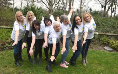 Arden's Angels Approach £10000 Skydive Sponsorship Target in Aid of Arden Cancer Centre