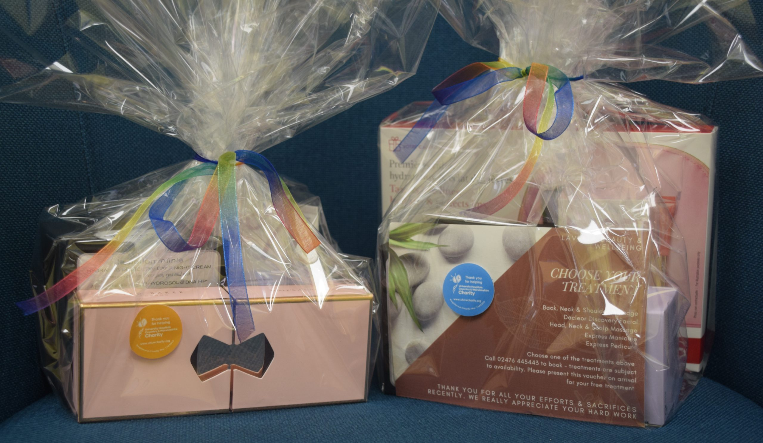 Support Your Local Hospital with a UHCW Charity Pamper Hamper