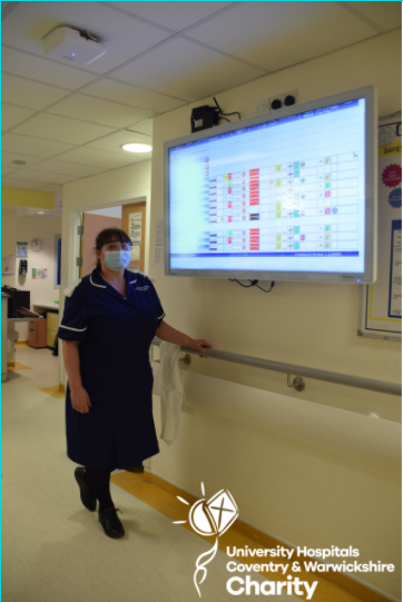 How Your Donations Are Bringing Innovative Technology To UHCW Staff And Patients