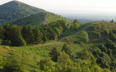 Coventry Building Society Team Take On Malverns Challenge For UHCW Charity