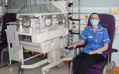 Providing Extra Comfort For Our Neonatal Patients and their Families