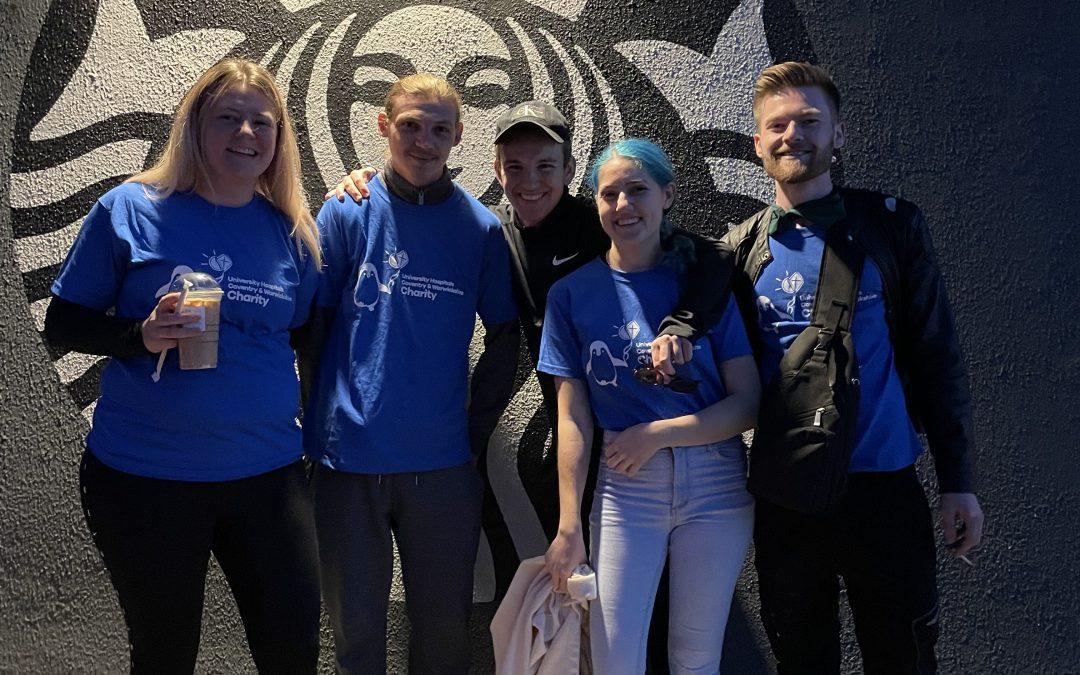 Starbucks Team's Summit Conquering Start to Charity Partnership